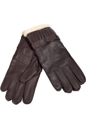 Barbour Leather Utility Gloves in Brown