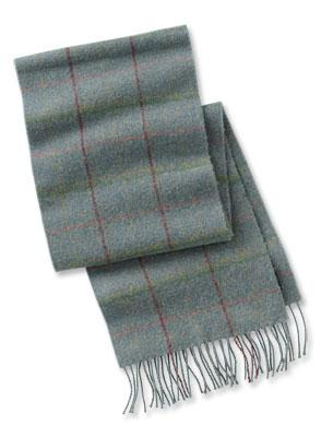 Barbour Newmarket Plaid Scarf USC0086SG11