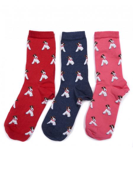 Barbour one size Terrier Sock for ladies LAC0134NY111