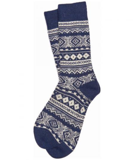 Barbour Onso Fairisle Sock MSO0126
