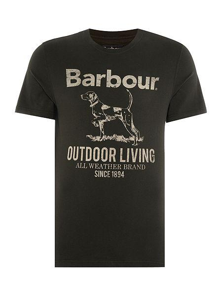 Barbour Outdoor T-Shirt in Navy MTS0210NY91