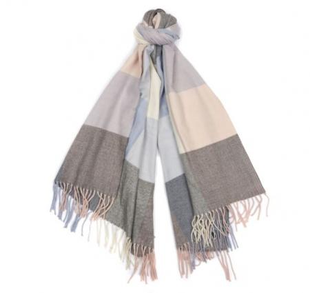 Barbour Pastel Check Scarf LSC0213