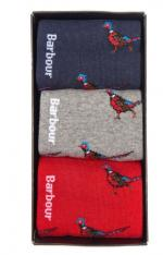 Barbour Pheasant Sock gift set