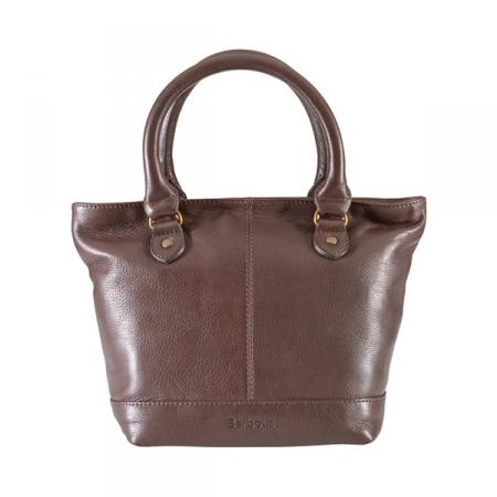 Barbour Preston Leather Tote Bag LBA0236BR71