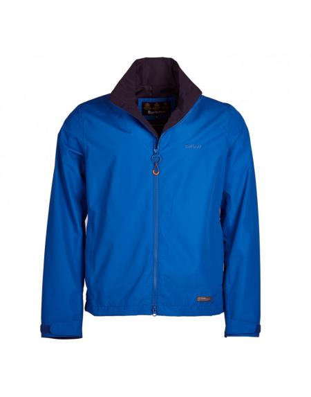 Barbour Rye Jacket in electric blue MWB0696