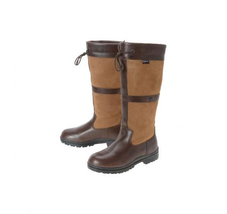 Barbour Shields Field Boot for ladies in brown LFO0049TA71