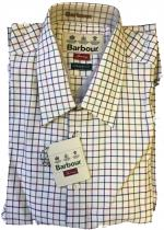 Barbour Sporting Tattersall Shirt with Classic Collar MSH2197RE75