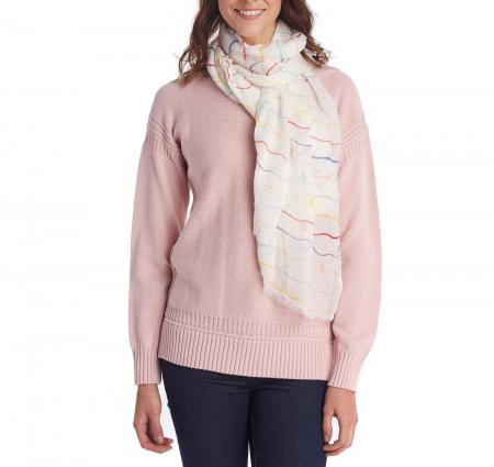 Barbour Squiggle Stripe Wrap LSC0280