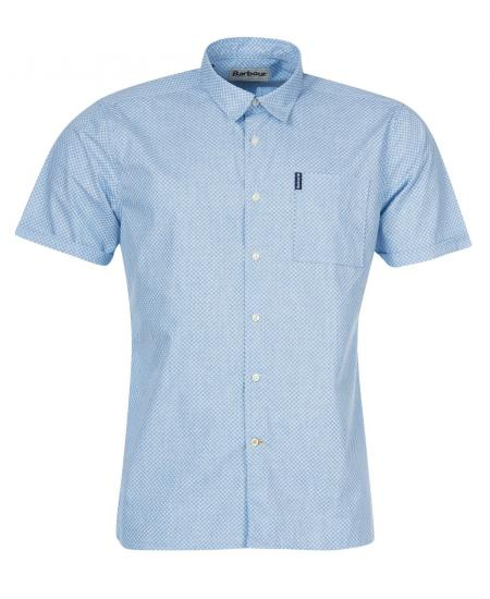 Barbour Summer Print 9 Short Sleeved Shirt MSH4908