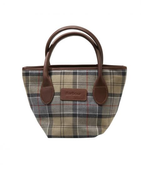 Barbour Tartan Tote Bag Dress Tartan shown