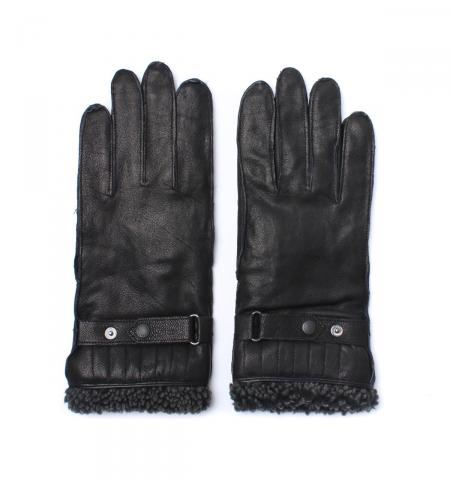 Barbour Tindale leather glove in black