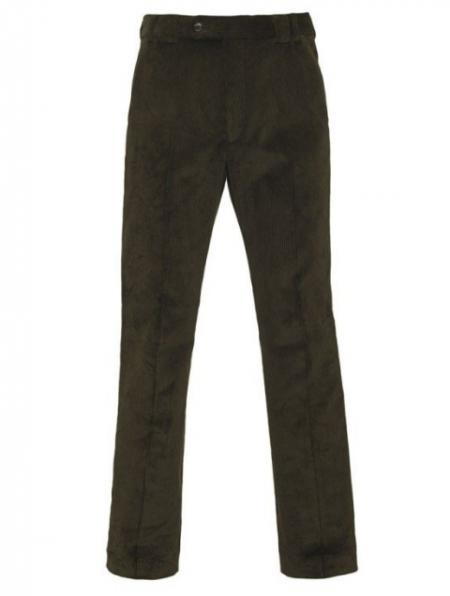 Barbour Traditional Country Cord Flat Fronted Trousers MTR0001