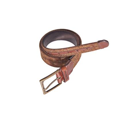 Barbour Tweed and Leather Belt MAC0134BR31