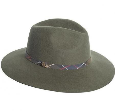 Barbour Tweed Flat Cap LHA0183OL11