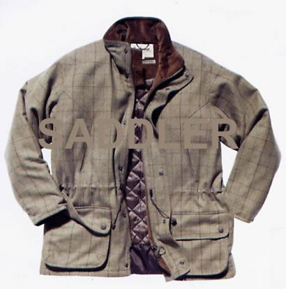 Barbour Tweed Shooting Jacket MWO0121GN52