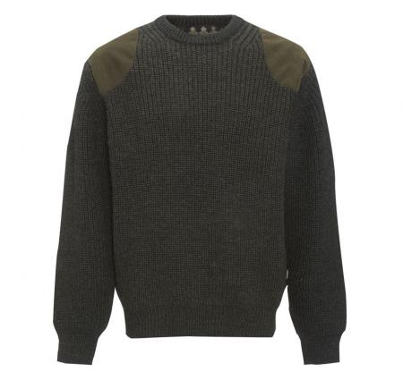 Barbour Tyne Sports Crew Neck Sweater in Olive MKN0793OL71
