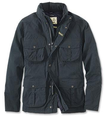 Barbour Waterproof Winter Utility Jacket in Navy MWB0483NY71