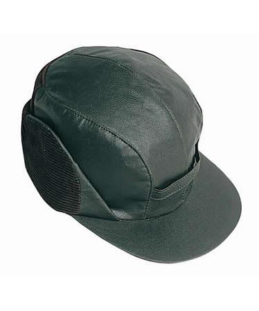 Barbour Waxed Cotton Hunting Cap MHA0002SG91 WAS D581 in sage green