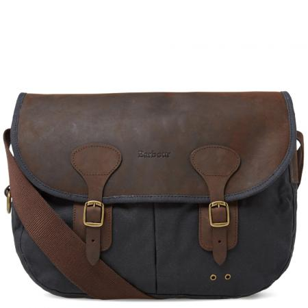 Barbour Waxed Leather Tarras Bag UBA0003