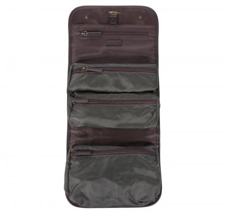 Barbour Wax Hanging Washbag MAC0398OL71