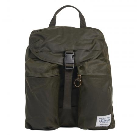 Barbour Whitby Backpack in Olive UBA0439