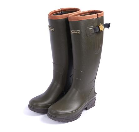 Barbour Women's Tempest Wellington Boot in olive