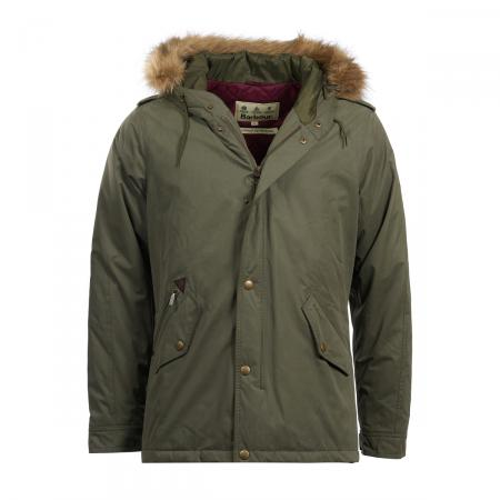 Barbour Yearling Jacket in fern green MWB0629GN51