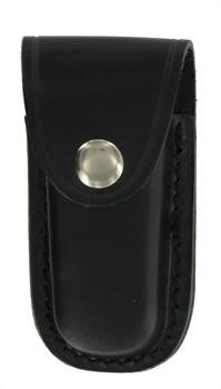 Black Leather 3.5 inch Knife Pouch
