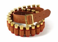 brady leather cartridge belt