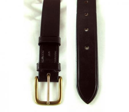Brady Hand Stiched West End Leather Belt