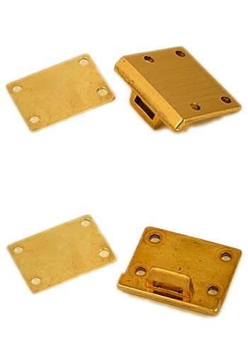 Brass Briefcase Hasp