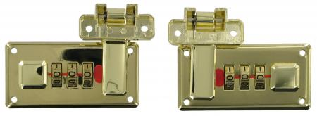 Brass Combination Lock Set I1012