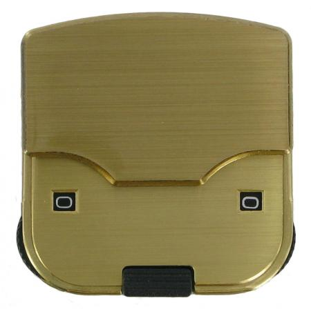 Brass 2 Dial Combination Lock for Briefcases CXCBK2