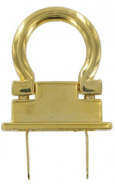 Brass Handbag Drop Catch DC1