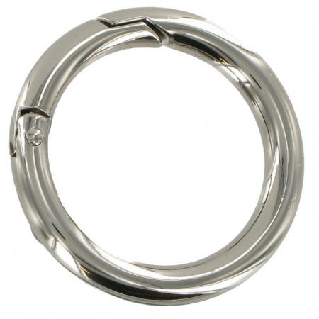 Brass or Chrome Spring Gate Ring 52m CR2