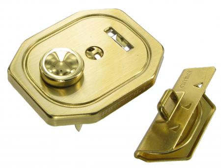 Brass Soft Briefcase Key Lock N-47331-324