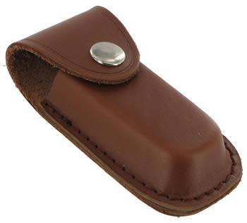 Brown Leather 3.5 inch Knife Pouch