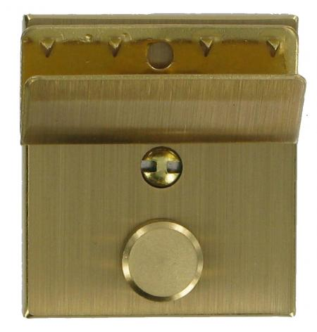 Brushed Brass Soft Briefcase Key Lock CXLK1