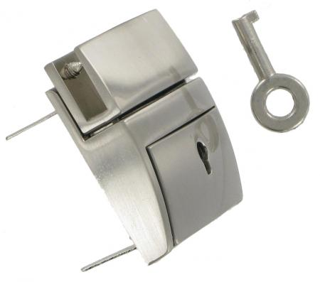 Chrome Lockable Tucktite fastener CTT2