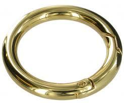 Chrome Spring Gate Ring 52m CR2