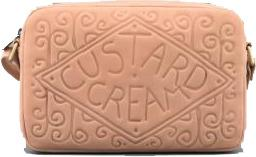 Custard Cream Leather Shoulder Bag