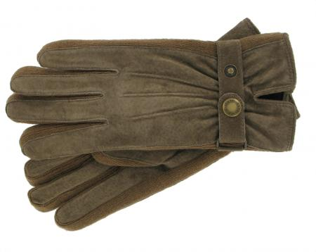 Dents Fancy Ladies Suede Warm Lined Glove