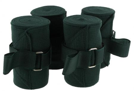 Elasticated exercise bandages for horses pack of Four
