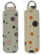 replacement zip tag for Radley handbags Z1/A/B(grey on left cream on right)