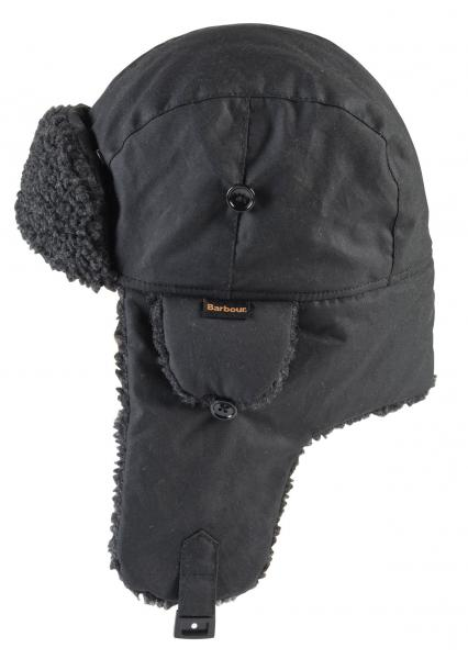 Fleece Lined Hunter Hat for Men by Barbour black