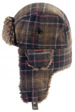 Fleece Lined Tartan Hunter Hat for Men by Barbour Classic Tartan