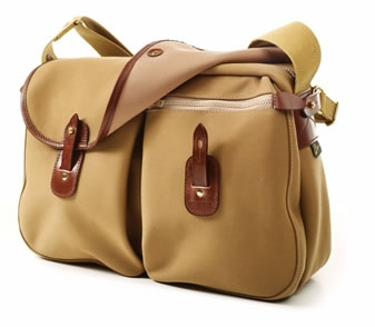 Gelderburn fishing bag by Brady in khaki