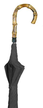 Gentleman's Bamboo Whangee Handle Umbrella