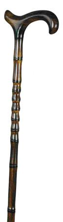 Gent's Exclusive Scorched and knobbly Beech Derby Walking Stick