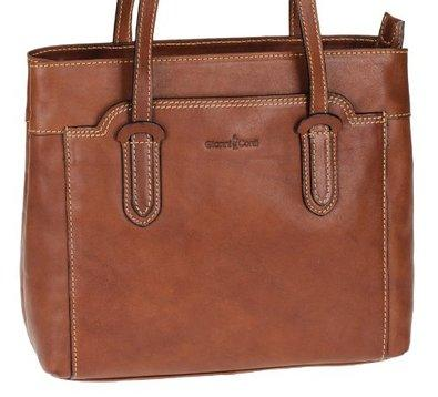 Gianni Conti Leather Shoulder Bag